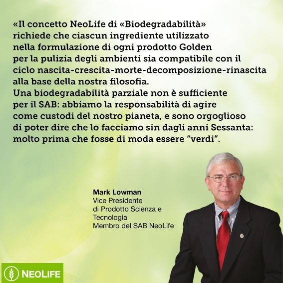 Mark Lowman SAB Neo Life International